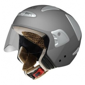 Casco Jet NZI Flow Gris Mate